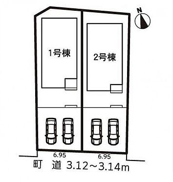 新築一戸建て-額田郡幸田町大字菱池字山ノ郷 区画図