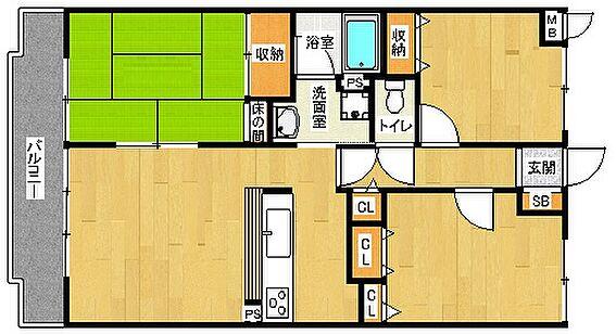 マンション(建物一部)-京都市山科区御陵大谷町 ファミリーにおすすめ