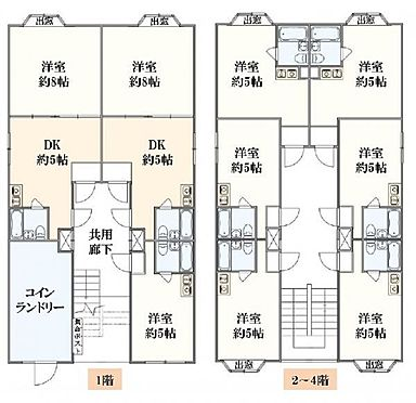 一棟マンション-大阪市住之江区浜口西2丁目 間取り