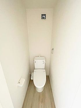戸建賃貸-仙台市宮城野区岩切3丁目 トイレ