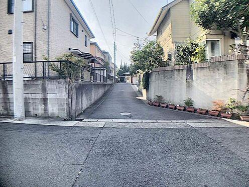 土地-名古屋市緑区大清水5丁目 前面道路含む現地写真です。