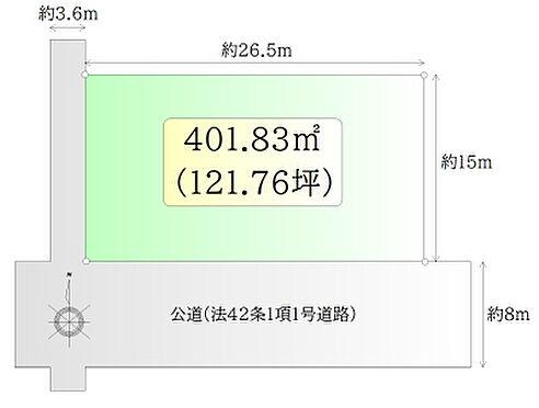 土地-角田市角田字寺前 区画図