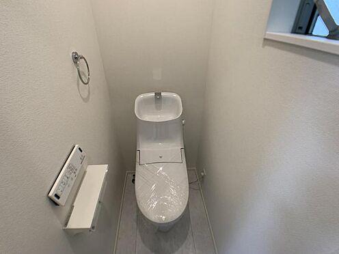 新築一戸建て-名古屋市中村区大正町3丁目 ※他現場の施工事例写真です。ウォシュレット付きトイレ!