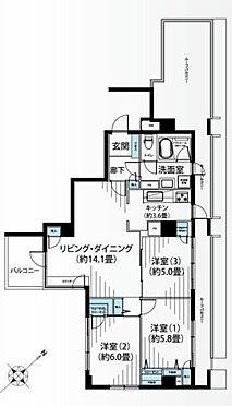 中古マンション-台東区下谷3丁目 間取り