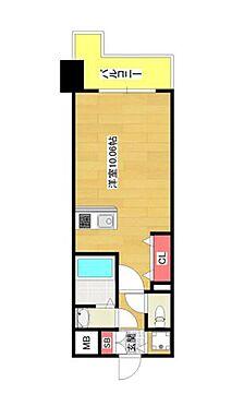 マンション(建物一部)-大阪市西区九条南1丁目 間取り