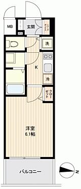 マンション(建物一部)-大阪市浪速区桜川4丁目 間取り