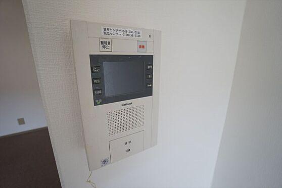 中古マンション-川越市大字古谷上 TVモニター付きインターフォン