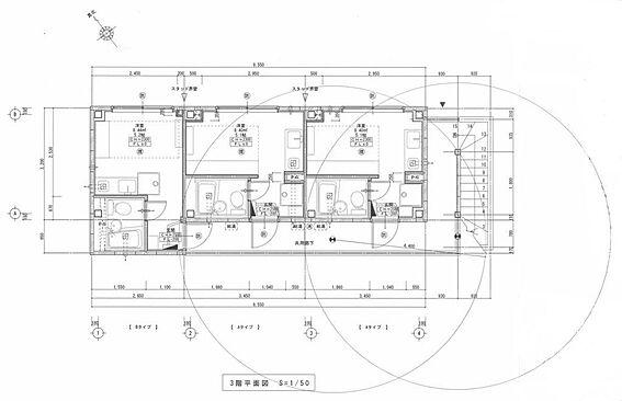 マンション(建物全部)-川越市大字小堤 3階 平面図