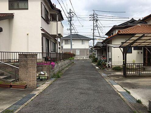 土地-豊田市西中山町神子塚 前面道路約4.0mに接道しています