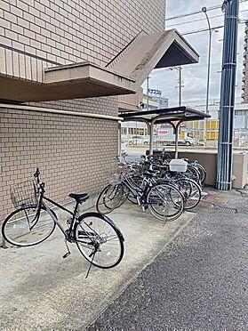 中古マンション-名古屋市中川区愛知町 駐輪場