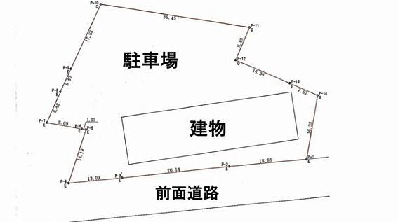アパート-柏市大井 配置図