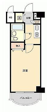 マンション(建物一部)-京都市伏見区深草フチ町 室内に洗濯機置き場があって便利です。