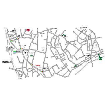 土地-朝霞市根岸台7丁目 地図