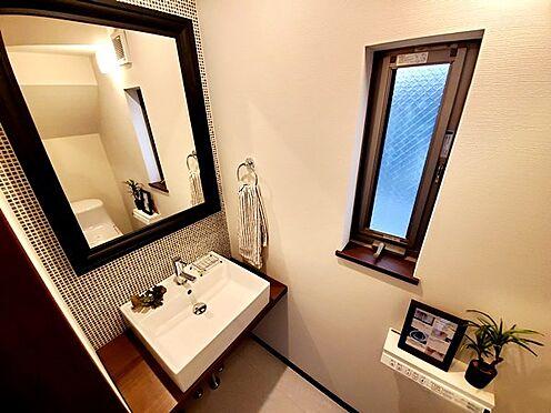 新築一戸建て-八王子市堀之内2丁目 トイレまでこんなに豪華!!お洒落な空間で生活する事で日常の活気も漲りそうです!
