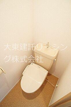 アパート-那珂市菅谷 トイレ