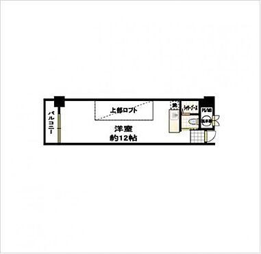 マンション(建物一部)-大阪市中央区淡路町2丁目 間取り