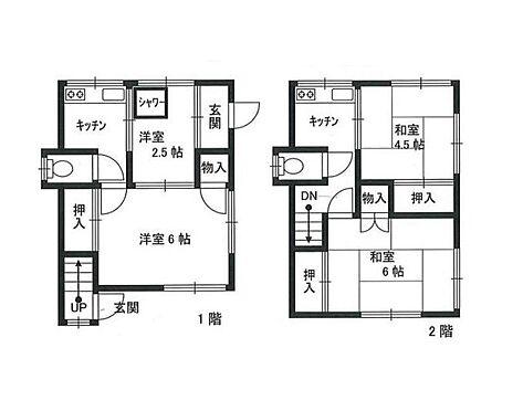 アパート-横浜市鶴見区汐入町3丁目 間取り