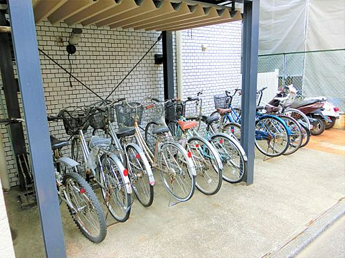 マンション(建物一部)-板橋区赤塚3丁目 駐輪場です。