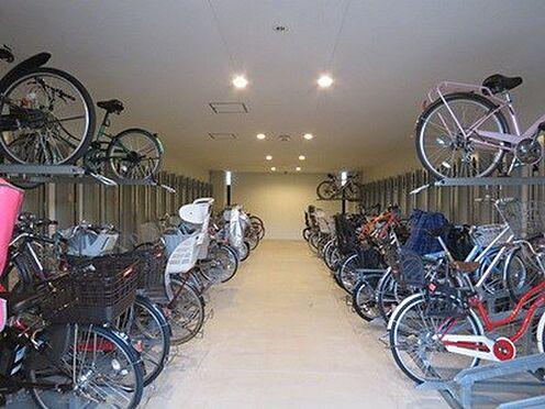 中古マンション-品川区勝島1丁目 自転車置き場です。