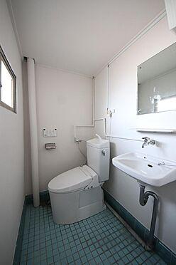 建物全部その他-八王子市長房町 地下1階にあるトイレです。