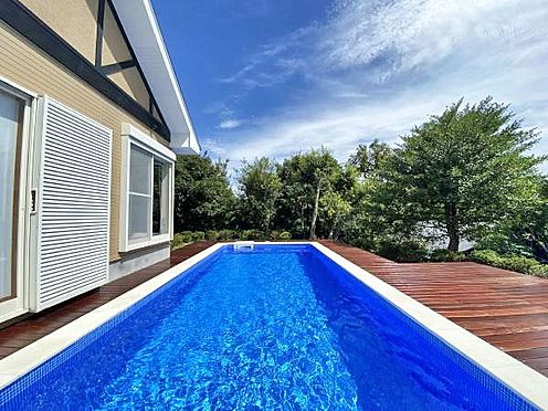 中古一戸建て-伊東市赤沢 ≪プール≫ フランスmajiline社製3×7mの大型プール。