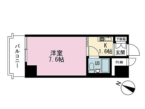 マンション(建物全部)-中央区日本橋蛎殻町2丁目 間取り