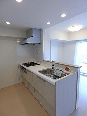 中古マンション-新潟市中央区南出来島2丁目 開放的な対面キッチン