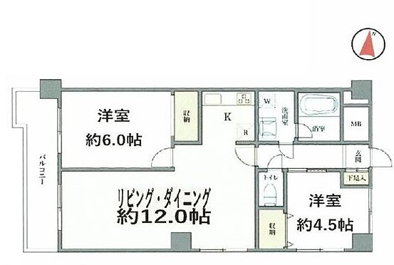 中古マンション-川口市飯塚1丁目 間取り