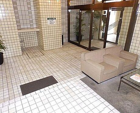 マンション(建物一部)-京都市下京区材木町 清潔感のあるロビー