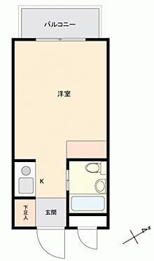 区分マンション-板橋区赤塚3丁目 間取り