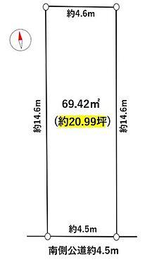 土地-名古屋市中川区十一番町5丁目 建築条件なくお好きハウスメーカーや工務店で施工可能です!