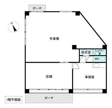 店舗(建物全部)-網走郡美幌町字青山北 間取り