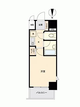 中古マンション-大阪市北区西天満4丁目 間取り