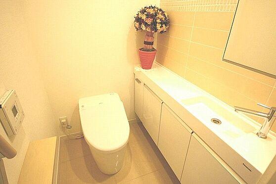 中古一戸建て-新宿区西落合4丁目 トイレ