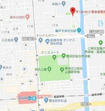 ビル(建物全部)-墨田区太平4丁目 地図