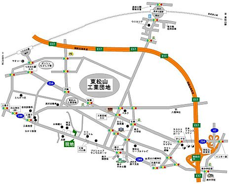 土地-東松山市大字下唐子 地図