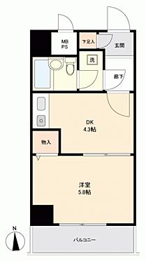マンション(建物一部)-相模原市中央区相模原3丁目 間取り
