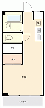 マンション(建物一部)-横浜市港北区日吉本町 間取り