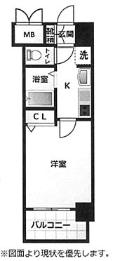 区分マンション-大阪市淀川区西宮原1丁目 図面より現況を優先します。