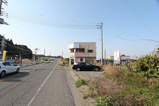 住宅付店舗(建物全部)-長生郡一宮町東浪見 南側国道から店舗方向