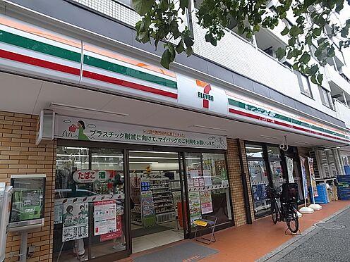 中古マンション-新宿区若松町 セブンイレブン 新宿若松町店(徒歩3分・約210m)