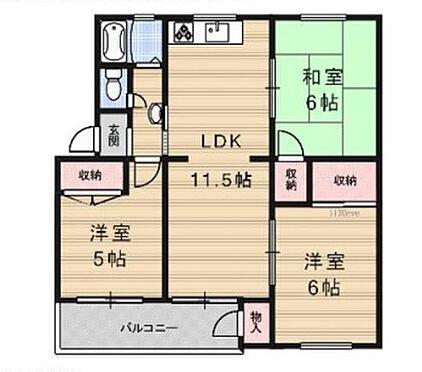 マンション(建物一部)-神戸市垂水区神陵台2丁目 間取り