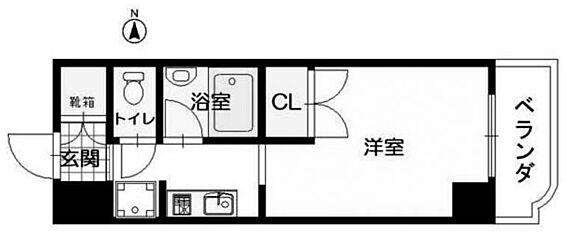 マンション(建物一部)-松山市天山1丁目 間取り
