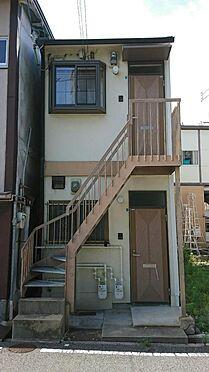 アパート-神戸市灘区大石東町6丁目 1・2階各1部屋づつのアパートです。平成17年2月に内外装全面改装済で、年間を通じて賃貸業者さんからの問い合わせがあります。