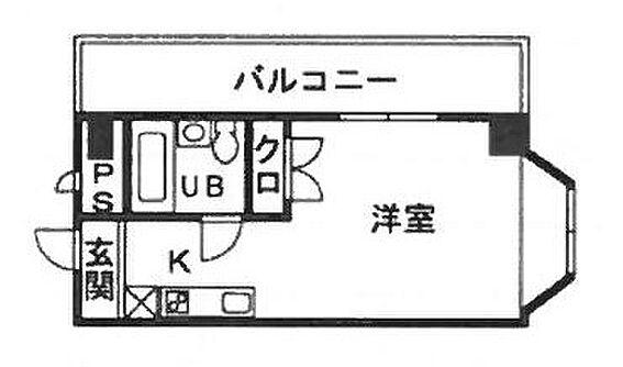 中古マンション-平塚市根坂間 間取り
