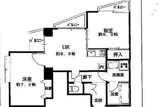 マンション(建物一部)-足立区東和2丁目 間取り