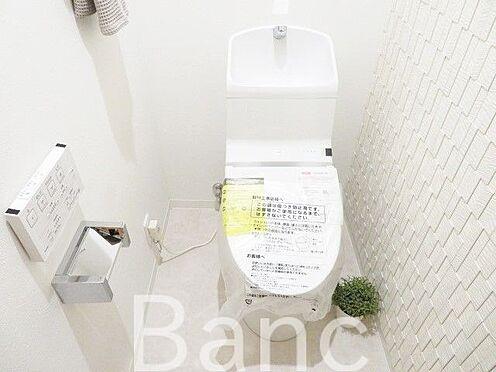 中古マンション-江東区高橋 清潔感のあるトイレ