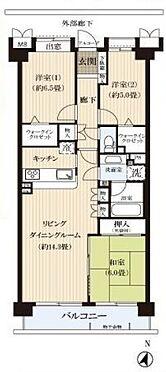 中古マンション-ふじみ野市大井 間取り