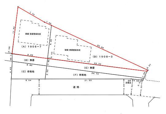 建物全部その他-八王子市泉町 現況図