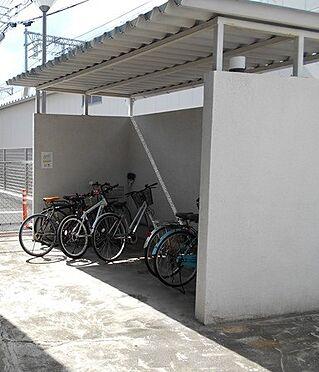 マンション(建物一部)-神戸市東灘区魚崎西町3丁目 使い勝手の良い駐輪場